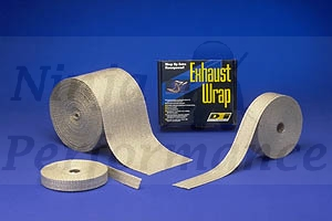 "Exhaust / Header Wrap 1"" X 50 ft"