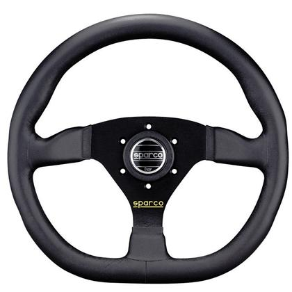 Sparco Steering Wheel L360 Ring Black - Leather