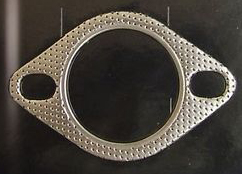 2-Bolt High Temperature Exhaust Gasket 2 1/4 Inch  - 3S Downpipe Gasket