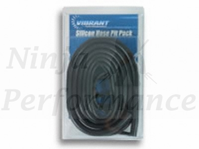 Silicone Vacuum Hose Kit-Black