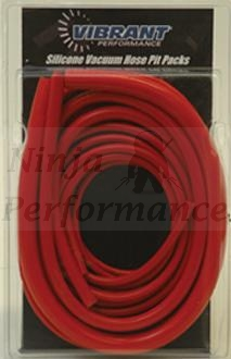 Silicone Vacuum Hose Kit-Red