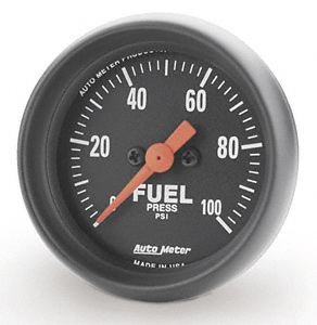 Fuel Pressure 0-100psi #2663  Z Series 52mm