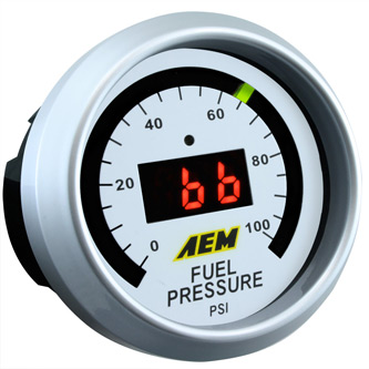 AEM Fuel Pressure Gauge 0 to 100 psi 30-4401