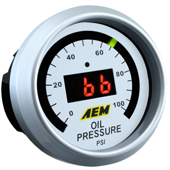 AEM Oill Pressure Gauge 0 to 100 psi 30-4401