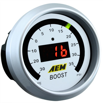 AEM Boost Gauge 35 psi 30-4406