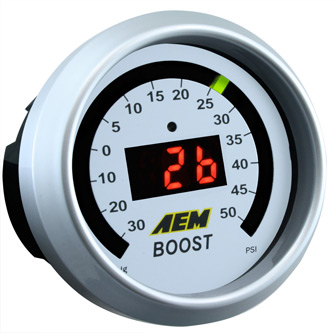 AEM Boost Gauge 50 psi 30-4408