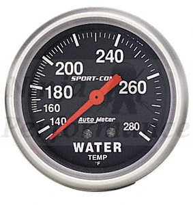 Water Temp #3333  Sport Comp-Series 52mm