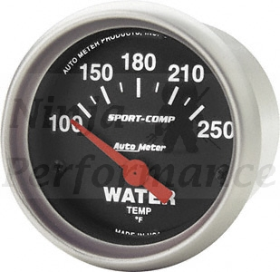 Water Temp #3337  Sport Comp-Series 52mm