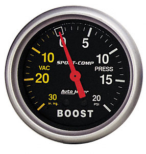 Boost #3301 Sport-Comp Series 20psi 52mm
