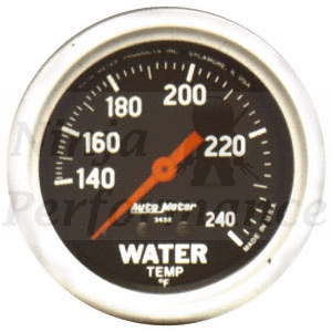Water Temp #3432  Sport Comp-Series 2 5/8