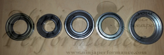 Mitsubishi OEM AWD Rear Wheel Bearing Rebuild Kit