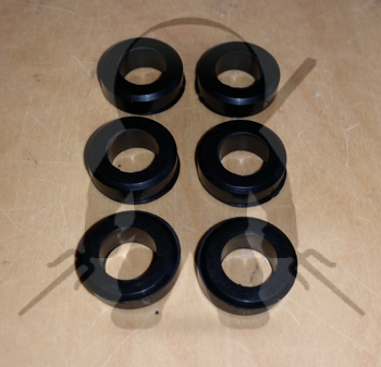 Mitsubishi Fuel Injector Lower Insulators set - 6
