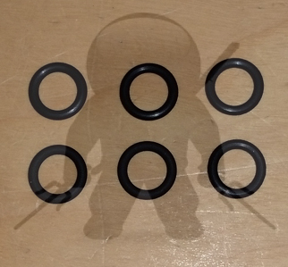 Mitsubishi Fuel Injector O-Rings Set of 6