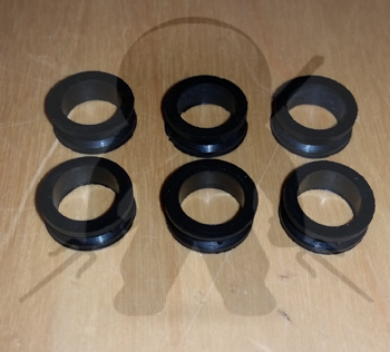 Mitsubishi Fuel Injector Upper Bushings set - 6