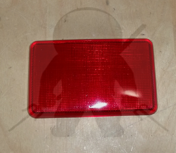 Mitsubishi OEM 3000GT Stealth Door Light Cover - Red