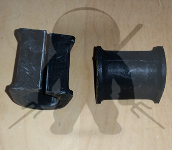 Mitsubishi OEM 3000GT Stealth Sway Bar Bracket Bushings - FWD -  Rear