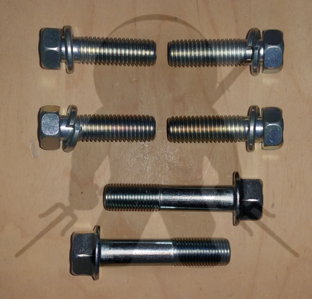 Mitsubishi OEM 6G72 Trans to Block Bolt Set 6