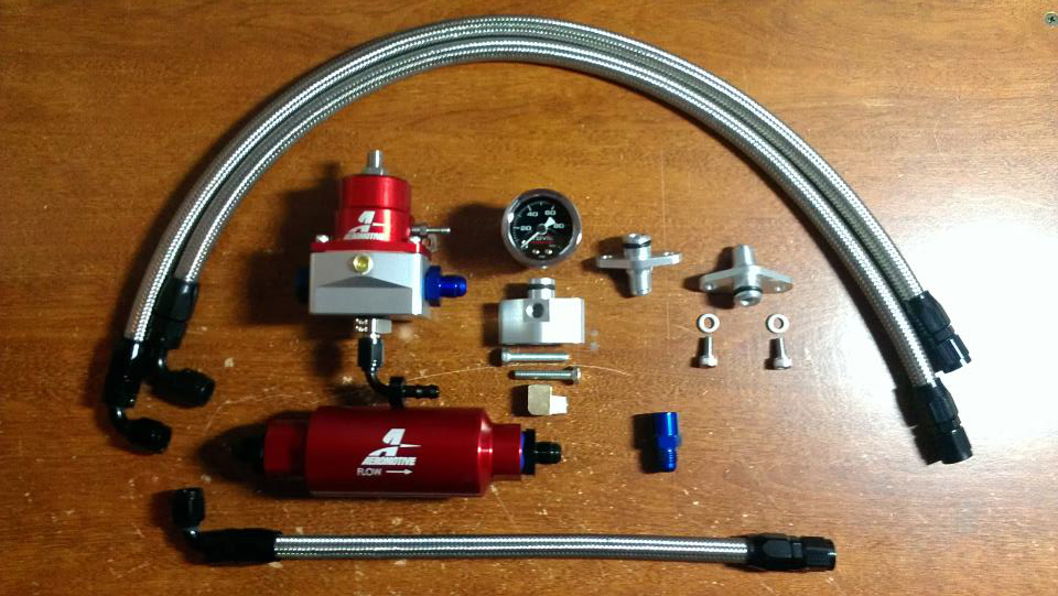 Ninja Performance Aeromotive FPR-Filter-Gauge kit - E85 Compatible