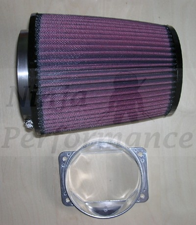 K&N Bolt On Cone Filter Kit -  3000GT Stealth