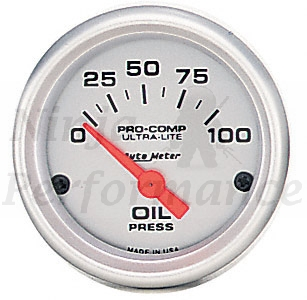 Oil Pressure #4327 Ultra-Lite Series 52mm