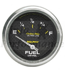 Fuel Level 240-33 OHMS #4716 Carbon Fiber Series 52mm