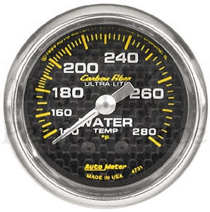 Oil Pressure #4721 Carbon Fiber Series 52mm
