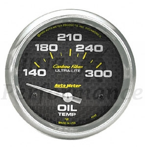 Oil Temp #4748 Carbon Fiber Series 52mm