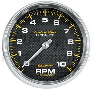 Tach #4798 Carbon Fiber-Series 3 3/8""