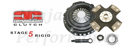 Comp Clutch Stage 5 Solid Hub 4 Puck Clutch Kit 5048-0420