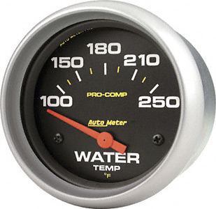 Water Temp #5437 Pro Comp Series 2 5/8