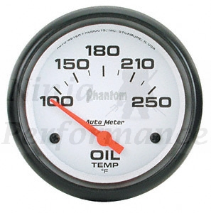 Oil Temp #5747 Phantom Series 52mm