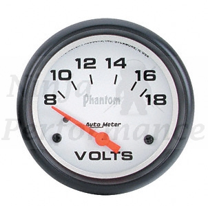 Voltmeter #5791 Phantom-Series 52mm