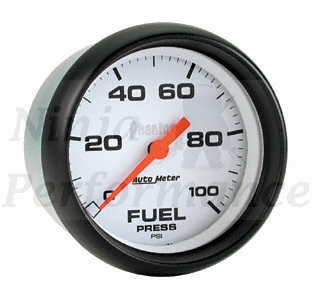 Fuel Pressure 0-100psi #5863 Phantom Series 2 5/8