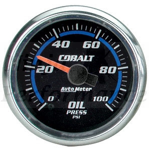 Oil Pressure #6153 Cobalt Series 0-100psi