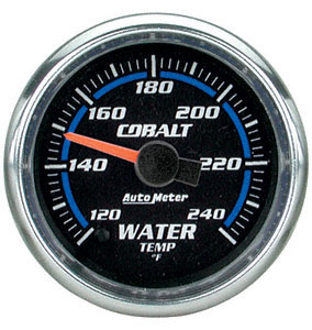 Water Temp #6155 Cobalt-Series 52mm