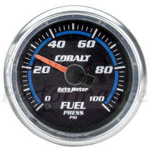 Fuel Pressure 0-100psi #6163 Cobalt Series 52mm