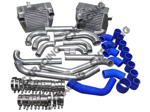 CX Racing 3000GT Stealth Side Mount Intercoolers and Piping Kit