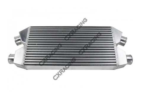 CX Racing DUAL CORE Front Mount Intercooler Core