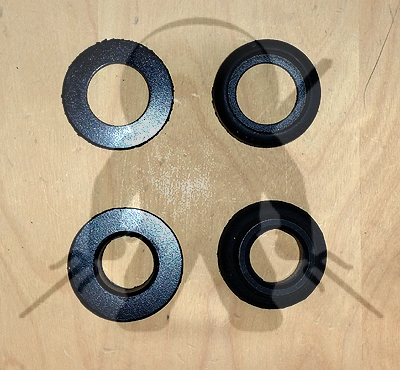 Mitsubishi OEM 3000GT Stealth AWD Carrier Bearing Insulator/Bushing Kit