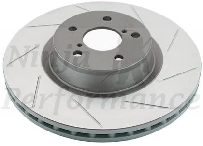 DBA Slotted Rear Rotors Pair 93-99 VR4/RTTT 217S
