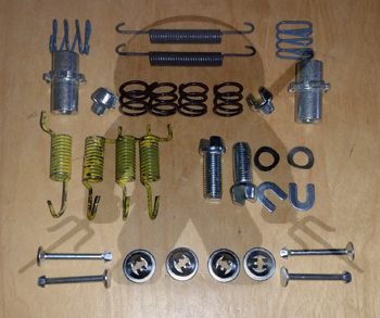 Mitsubishi 1991-2007 Rear Emergency Brake Hardware Kit