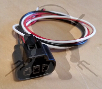 Mitsubishi OEM 3000GT Stealth Light Harness Front Combo 3 Wire