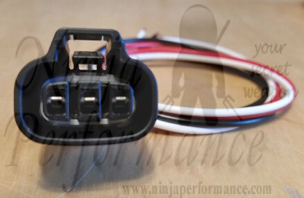 mitsubishi oem 3000gt stealth light harness front combo 3 wire  (oem3sfrontcombo3wire608) - ninja