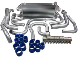 CX Racing 3000GT Stealth DUAL CORE Front Mount Intercooler Kit and Inlet Pipes