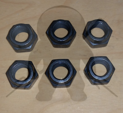 Mitsubishi OEM 3000GT Stealth Downpipe Nuts - 6