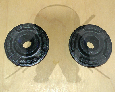 Mitsubishi OEM 3000GT Stealth Radiator Lower Insulator Bushings - Pair