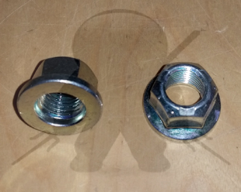 Mitsubishi OEM 3000GT Stealth Shock/Strut Upper Center Nuts - Pair