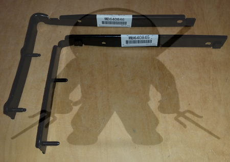 Mitsubishi OEM 3000GT Stealth Rear Bumper Mounting L Bracket Set