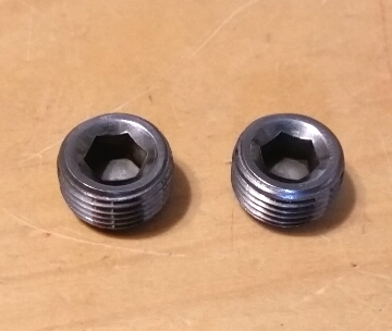 Mitsubishi OEM 6G72 DOHC Oil Galley Plugs - Set of 2