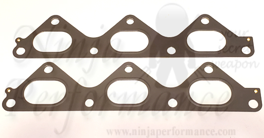 Mitsubishi OE 6G72 DOHC Exhaust Manifold Gaskets - Dual Layer MLS